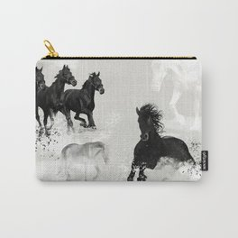Horses. Running. Wilderness. Carry-All Pouch