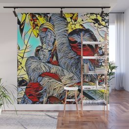 Color Kick -Sloth Wall Mural