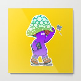 I am wondering who would want a mushroom print Metal Print