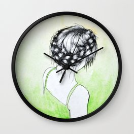 Crownbraid Wall Clock