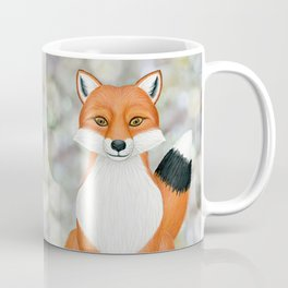 fox woodland animal portrait Coffee Mug