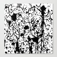 chaos Canvas Prints featuring Chaos by ZantosDesign