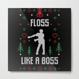 Floss Like A Boss Metal Print
