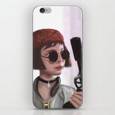 Mathilda iPhone & iPod Skin