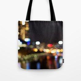 Light Art | Melbourne city (Yarra River) Tote Bag