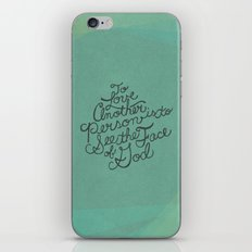 To Love Another... iPhone & iPod Skin