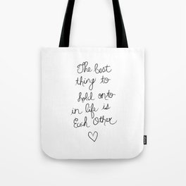 The Best Thing. Tote Bag