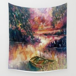 Lakeside dream Wall Tapestry