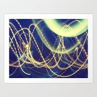 Light Waves 2 Art Print