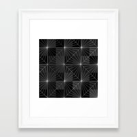 diamond Framed Art Prints featuring Diamond by Dood_L