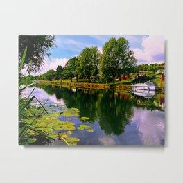 River Perspective. Metal Print