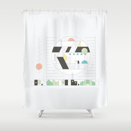 Forma 5 by Taylor Hale Shower Curtain