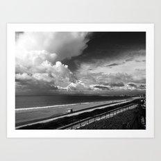 Torrance Beach Art Print