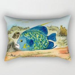 Poisson Ange Empereur Rectangular Pillow