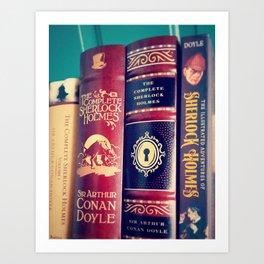 Library of Sherlock Holmes Art Print