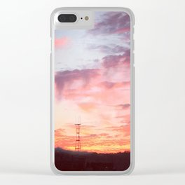 Potrero Sky Clear iPhone Case