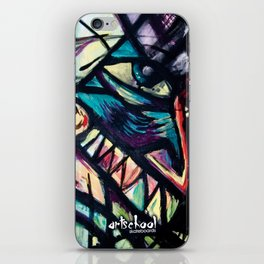 artist series skate graphic iPhone Skin
