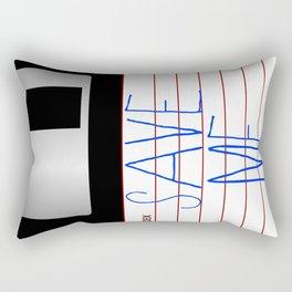 Message on the Floppy Rectangular Pillow