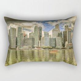 Singapore Marina Bay Sands Art Rectangular Pillow