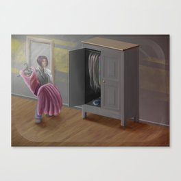 SCP-025  - Well-worn Wardrope Canvas Print