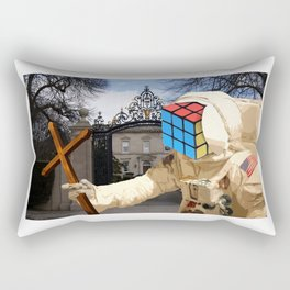 death comes for old money Rectangular Pillow