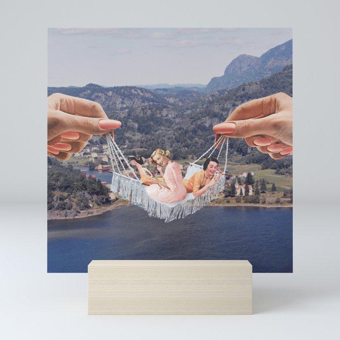 Hangin' Out Mini Art Print
