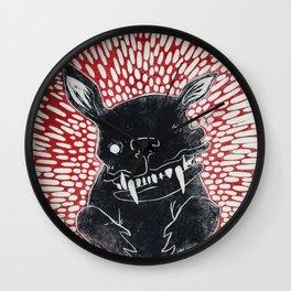 Max, the dog Wall Clock