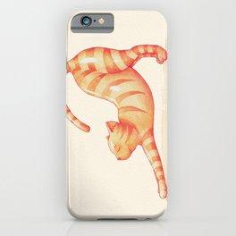 Yoga Cat iPhone Case