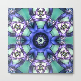 Allowing What Is Mandala Metal Print