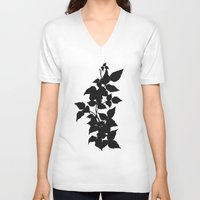 poison ivy V-neck T-shirts featuring Poison Ivy by V1scera