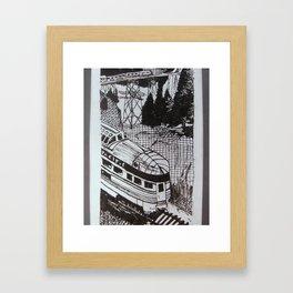 Trails of Appalachia  Framed Art Print