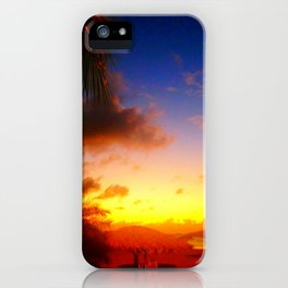 Caribbean Sunset, St. Maarten iPhone Case