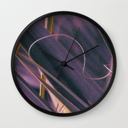 Palmetto Abstract Curl Wall Clock