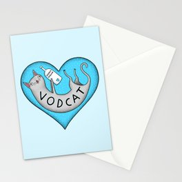 Vodcat Stationery Cards