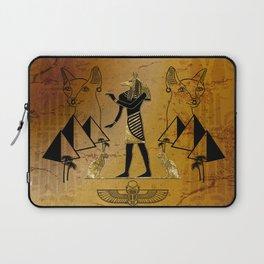 Anubis the egyptian god Laptop Sleeve