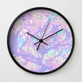 blossoming spring Wall Clock