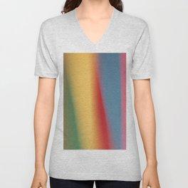 Colored blured background 22 Unisex V-Neck