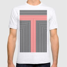 T like T Ash Grey SMALL Mens Fitted Tee