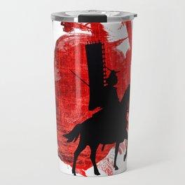 Japan Samurai Travel Mug