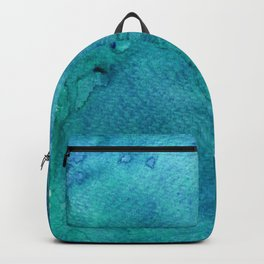 Abstract Watercolour Backpack