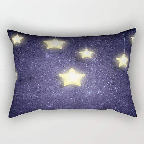 Moon & Stars 02 Rectangular Pillow