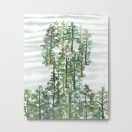 In the pines Metal Print