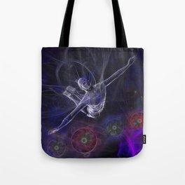 Galactic Acrobat Tote Bag