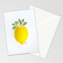 Illustrated Lemon Stationery Cards