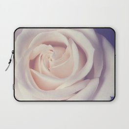 An Offering White Rose Laptop Sleeve