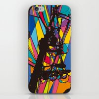 the wire iPhone & iPod Skins featuring wire by PINT GRAPHICS