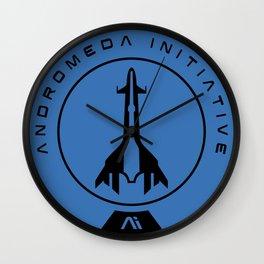 Andromeda Initiative Wall Clock
