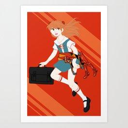 02 Asuka Langley Soryu Art Print