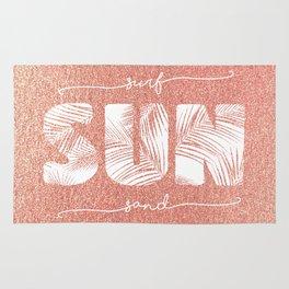 Surf, Sun & Sand Rug