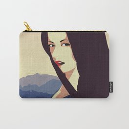 Girl Retro Style 10 Carry-All Pouch